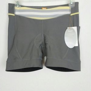 NWT Lucy Spin Fusion Exercise Padded Shorts